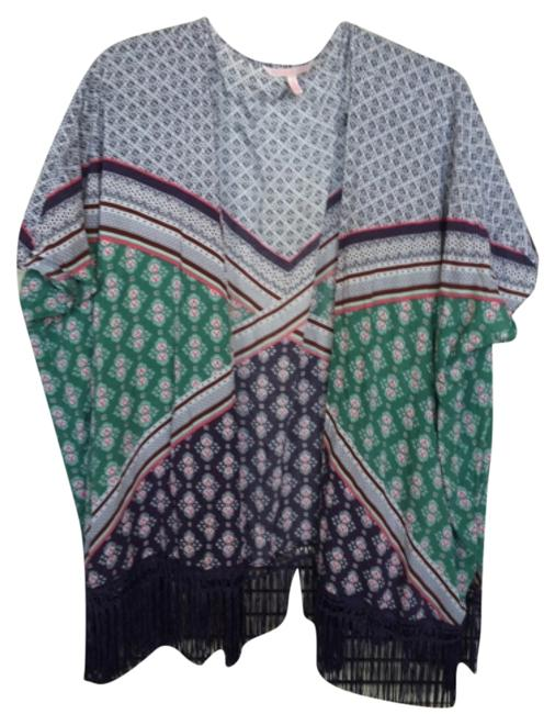 Item - Purple Green Pink Cover-up/Sarong Size 2 (XS)