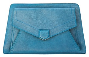 Proenza Schouler Proenza Leather Blue Clutch