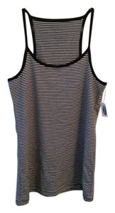 Old Navy Striped Bold Bold Stripe Top Black & White