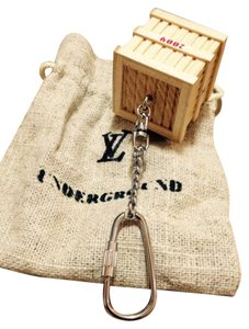 Louis Vuitton Louis Vuitton 2009 VIP Novelty Wooden Bag Charm Key Holder