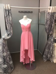 Allure Bridals Spring Bridesmaid Prom Sweetheart Chiffon Dress