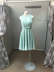 Allure Bridals Chiffon Breakfast At Tiffany's Tiffany Tiffanyblue Chiffon Bow Dress