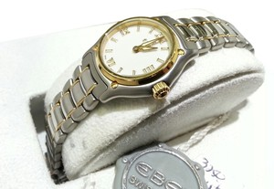 Ebel EBEL LADY'S STAINLESS STEEL & 18K YELLOW GOLD 1911