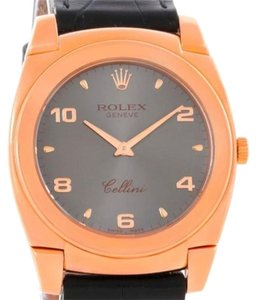 Rolex Rolex Cellini Cestello 18k Rose Gold Mechanical Watch 5330