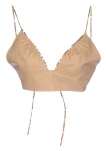 Fendi Beige Halter Top