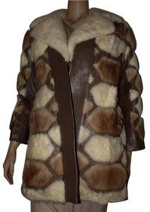 Event Night Out Animal Fur Fur Coat