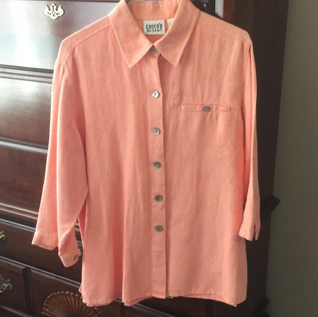 Chico's Top Light orange
