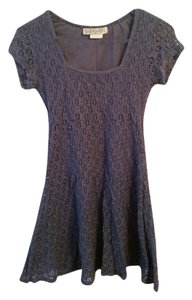 Charlotte Russe short dress Periwinkle Lace Empire Waist on Tradesy