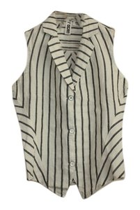 Rogan for Target Linen Summer Nautical Sale Top Striped
