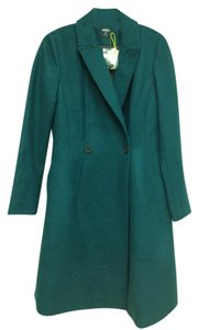 Kate Spade Wool Saturday Fencing Strawberry Fields Coat