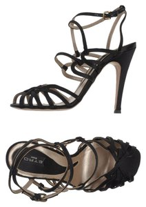 Etro Designer Night Out Date Night black Sandals