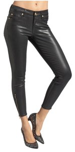 7 For All Mankind Capri/Cropped Pants Black