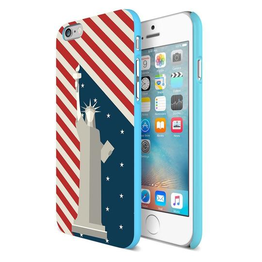 Maxboost Miss Independence Protective Hard Case for Apple iPhone 6 6S 4.7