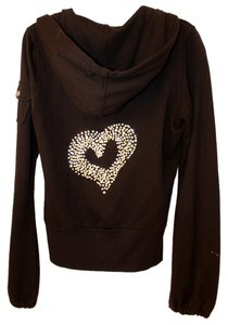 Twisted Heart Rhinestone Sweatshirt
