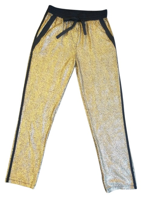 Kenneth Cole Baggy Pants Gold