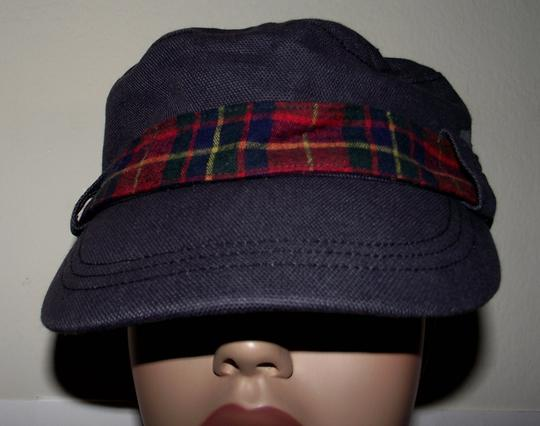Roxy New Roxy Plaid 1990s Inspired Cap Paper Boy Hat