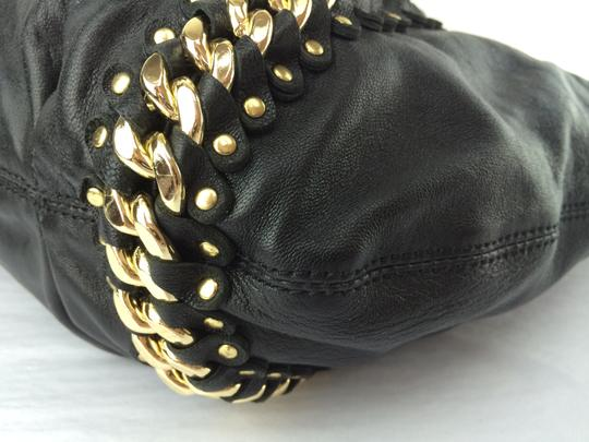 MICHAEL Michael Kors Studded Id Chain Large Hobo Bag