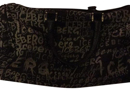 Iceberg Satchel in Black