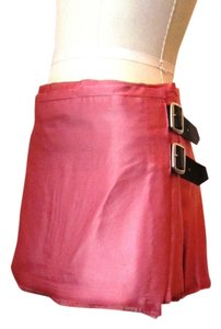 Vivienne Westwood Vintage Rare Collection Line Gold Label Kilt Mini Mini Skirt Pink