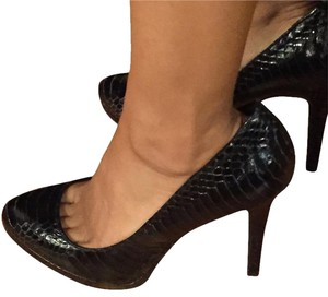 Ralph Lauren black (snakeskin) Pumps