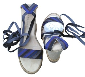 Marc by Marc Jacobs Blue/black Sandals