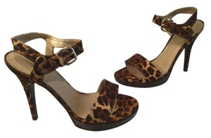 Stuart Weitzman Sandals Cheetah Platforms