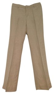 Banana Republic Linen Trouser Pants Tan