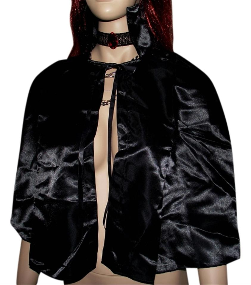 fredericks of hollywood halloween costume vampire ruby red gothic choker black cape vampire