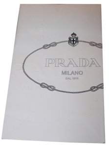 Prada Small Prada Shopping bag and ribbon.