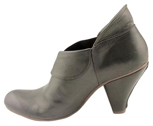 Other Leather Boho Charcoal Boots