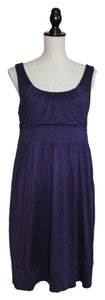 Ann Taylor LOFT short dress Deep Purple on Tradesy