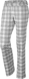 Nike 603295 Womens Grey Plaid Pants