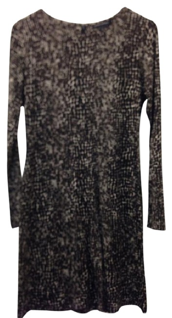 Banana Republic Fitted Silk Wool Dress