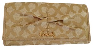 Coach Coach Parker Op Art Slim Envelope Wallet 42460