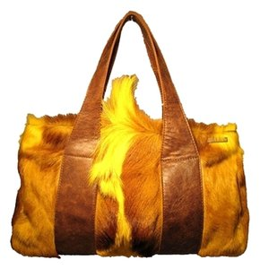 elena girardi Tote in yellow and brown