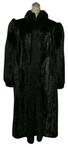 FOX & MINK Raned Fur Coat