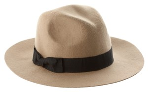 ASOS Wide Brim Wool Fedora Hat lack of color
