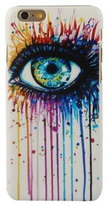 Chrysansmile Colorful Eye Hard Plastic Ultra Thin Dust Proof iphone 6 4.7
