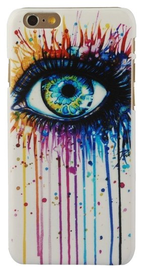"Chrysansmile Colorful Eye Hard Plastic Ultra Thin Dust Proof iphone 6 4.7"" Case"