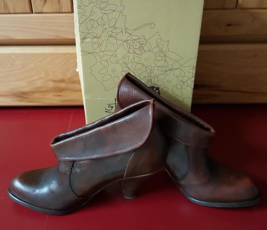 Other Boho Burnished Red Boots
