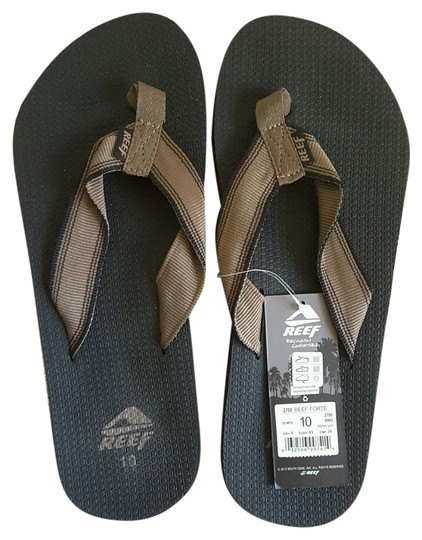 Reef Brown/Black Sandals