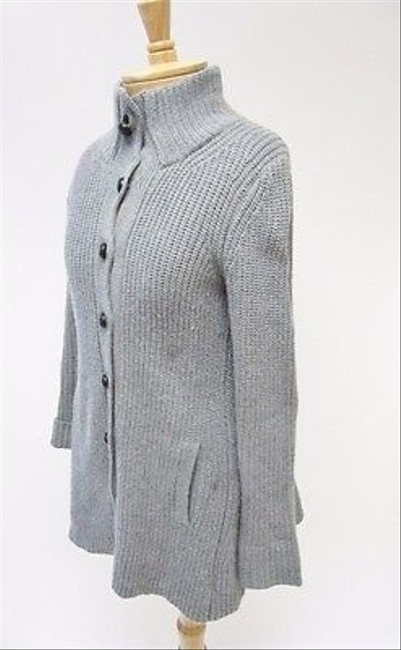 Theory Womens Button Front Cardigan P Tp Sweater