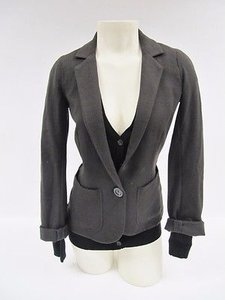 Bailey 44 Bailey Men Behaving Badly Brown Black Layered Sweater Blazer