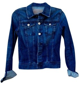AG Adriano Goldschmied Made In Usa Denim Womens Jean Jacket