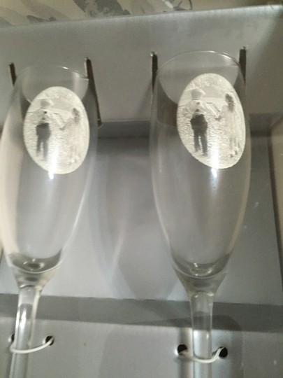 Glass This Day I Will Marry My Friend Champage Flutes By Hortense B.hewitt Co