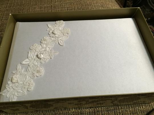Beverly Clark Whote Guest Book Vintage Style #55a