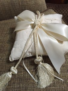 Ring Bearer Pillow By Beverly Clark - Cherub Tassel 40-bi