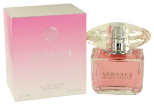 Versace Bright Crystal By Versace Eau De Toilette Spray 3 Oz