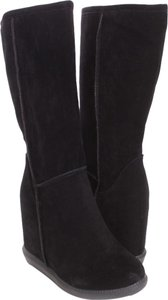 Mark and Maddux Wedge Suede black Boots