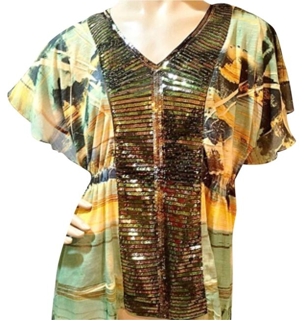 Preload https://item2.tradesy.com/images/live-and-let-live-tunic-gold-and-green-6547786-0-0.jpg?width=400&height=650